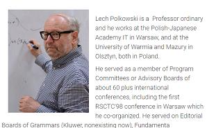 Lech Polkowski webpage